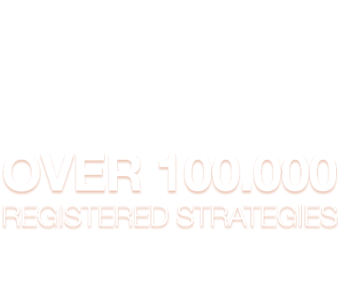 Over 10.000 Registered Strategies